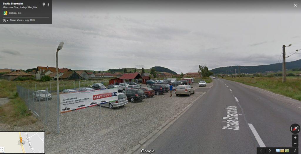 Google StreetView - AutoParamik - Miercurea Ciuc